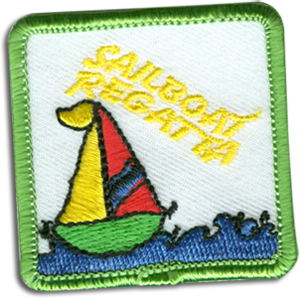 Sailboat Participation Badge
