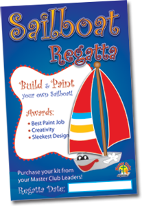 Sailboat Regatta Wall Poster