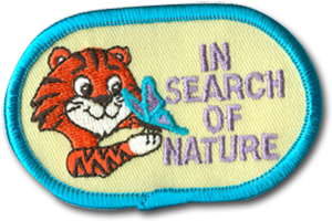 In Search of Nature Badge