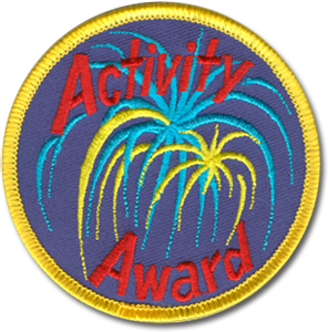 Activity Award Badge