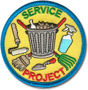 Service Project Badge
