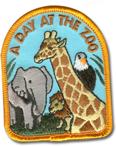 Day at the Zoo Badge