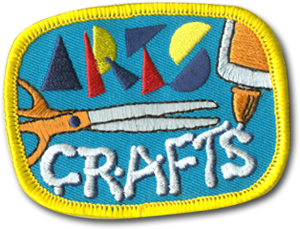 Craft Scissors Badge