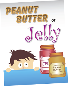 Peanut Butter or Jelly Board Game