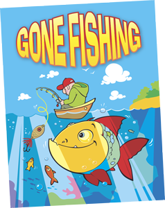 Gone Fishing Board Game