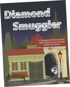 Diamond Smuggler Transparency Game