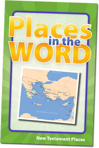 Places in the WORD Game - New Testament