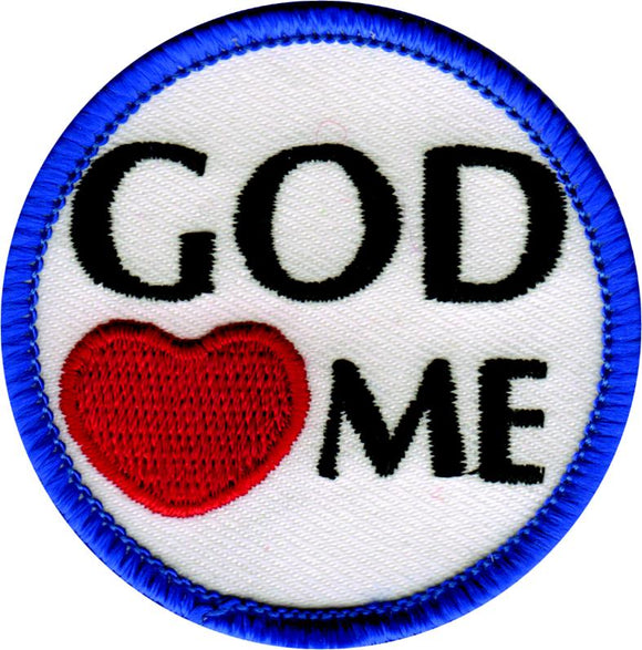 God Loves Me Badge