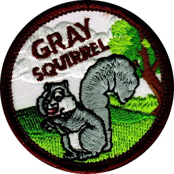 Gray Squirrel Badge