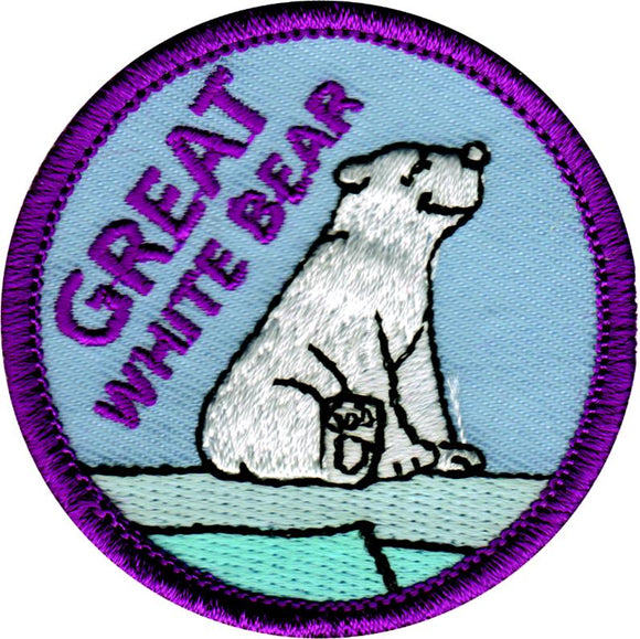 Great White Bear Badge