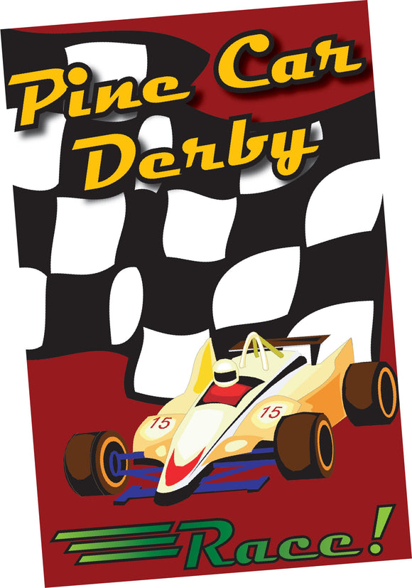 Pine Car Derby Flyer (50 pack)
