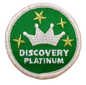 Platinum Discovery Badge