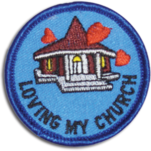 Loving My Church Badge