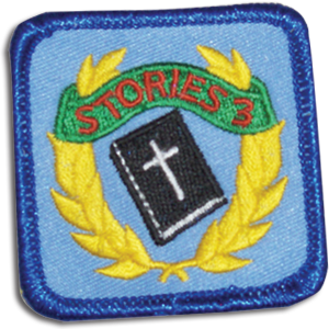 Key Bible Stories 3 Badge