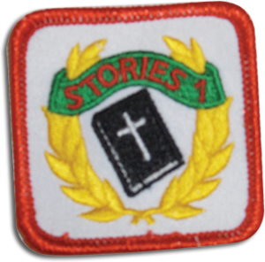 Key Bible Stories 1 Badge