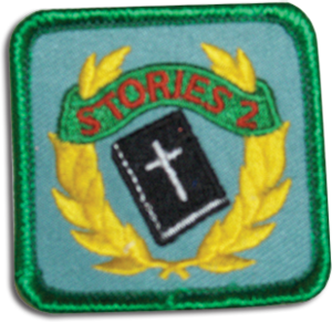 Key Bible Stories 2 Badge