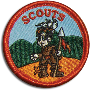 Scouts Membership Badge