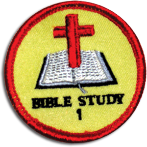Bible Study 1 Badge
