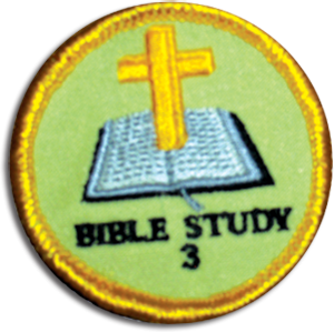 Bible Study 3 Badge