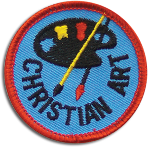 Christian Art Badge
