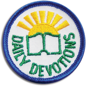 Daily Devotions Badge