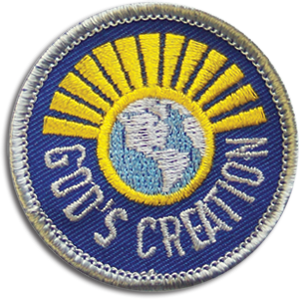 God's Creation Badge