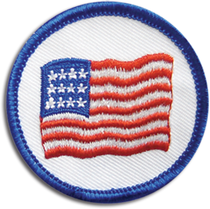 Patriotism Badge