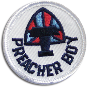 Preacher Boy Badge