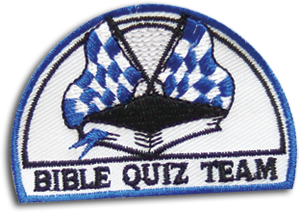 Quizzing Blue Badge