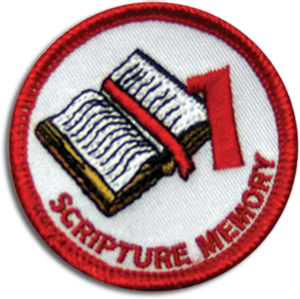 Scripture Memory 1 Badge