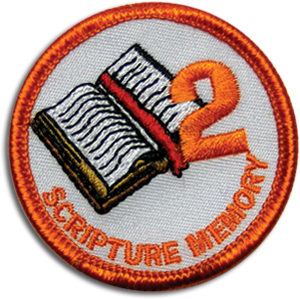 Scripture Memory 2 Badge