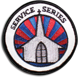Christian Service Series Badge