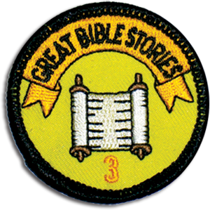 Great Bible Stories Badge 3