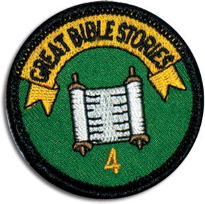 Great Bible Stories Badge 4