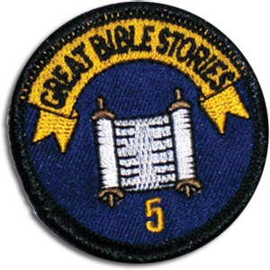 Great Bible Stories Badge 5