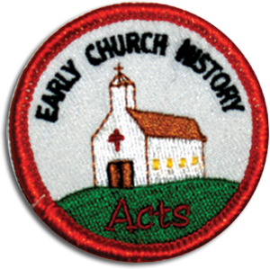 Early Church History Badge