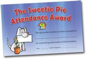 Sweetie Pie Award
