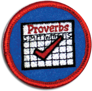 Proverb a Day Badge