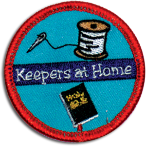Keepers At Home Badge