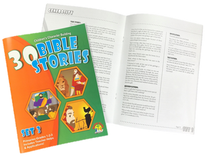 30 Bible Stories for Primaries Set #3