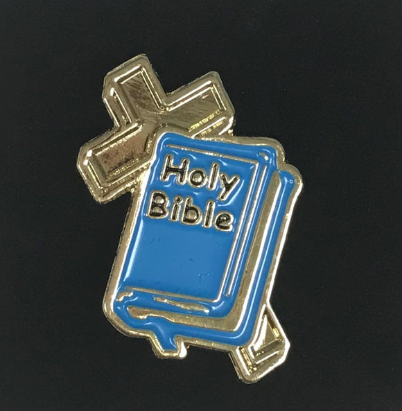 Blue Bible Pin #1 - Third Grade