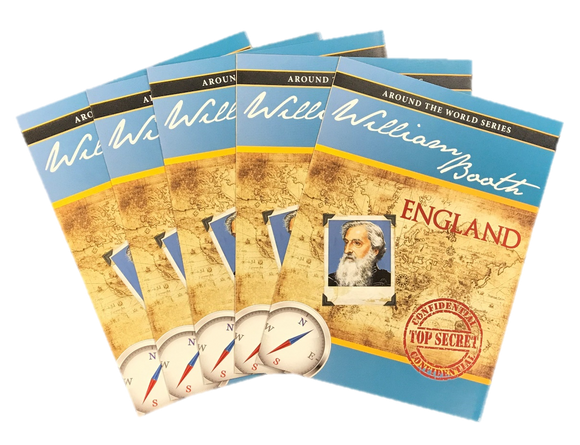 Around the World - William Booth (5 pack)