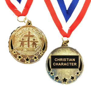Master Clubs Award Medal - Christian Character