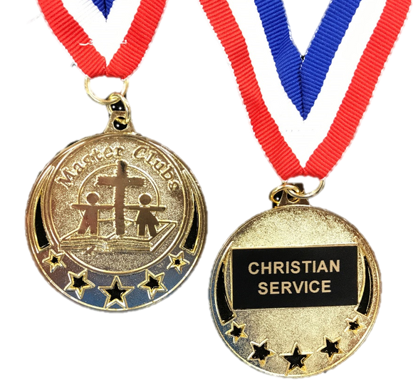 Master Clubs Award Medal - Christian Service