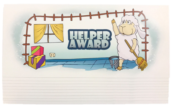 Helper Award (10 pack)
