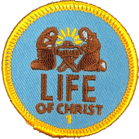 Life of Christ 1 Badge