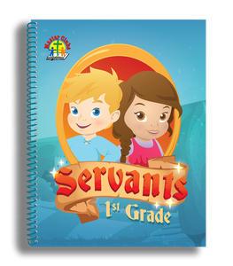 Servants Project Book - First Grade