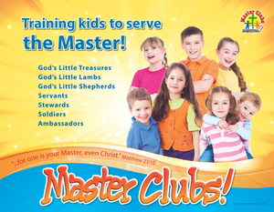 NEW Master Clubs Promotional Poster