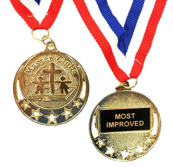 Master Clubs Award Medal - Most Improved