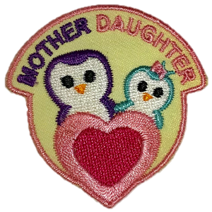Mother Daughter Specialty Badge